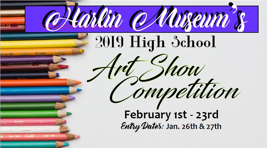 High School Art Show Competition @ Harlin Museum