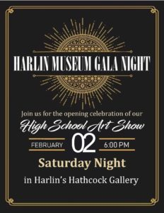 Gala Night @the Museum @ Harlin Museum - Hathcock Gallery, Main Level
