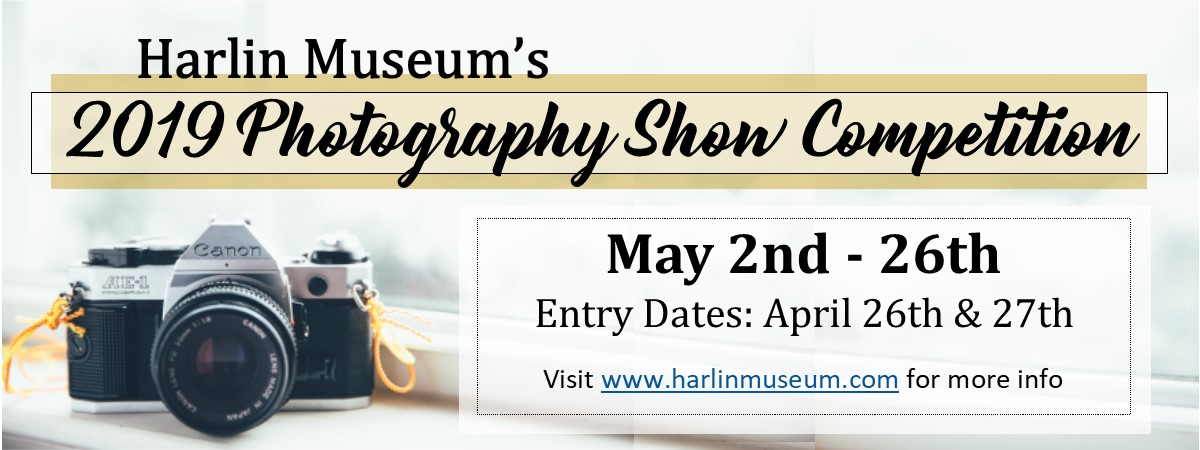 2019 Photography Show Competition @ Harlin Museum; Hathcock Gallery, Upper Level