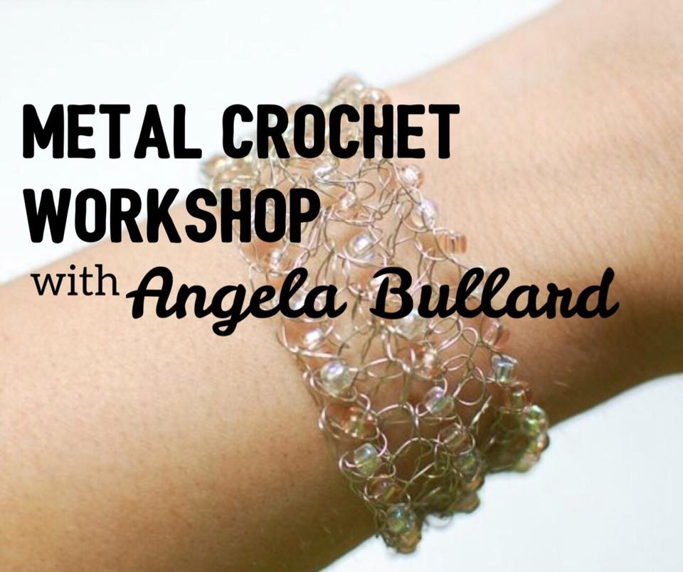 Metal Crochet Workshop with Angela Bullard @ Harlin Museum; Lower Level, Classroom Space