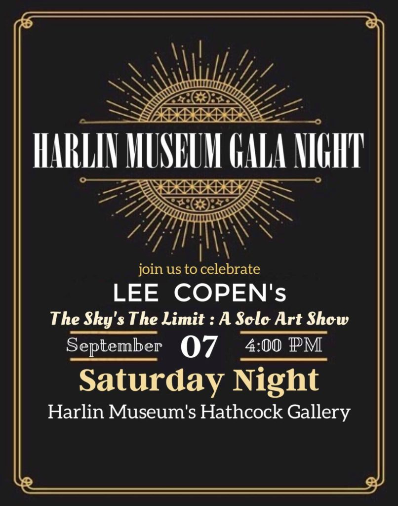 Gala Night at the Museum : September 2019 @ Harlin Museum; Upper Level, Hathcock Gallery