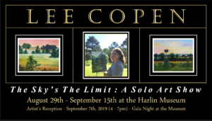 The Sky's The Limit : A Solo Art Show by Lee Copen @ Harlin Museum; Upper Level, Hathcock Gallery