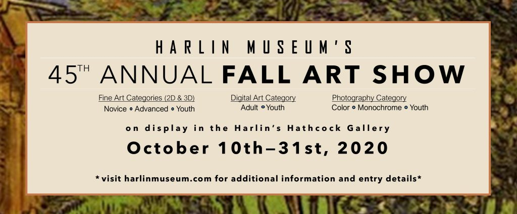 45th Annual Fall Art Show @ Harlin Museum
